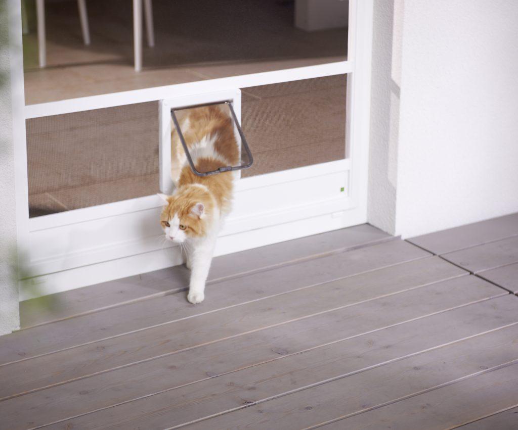 Katzenklappe Polyestergewebe